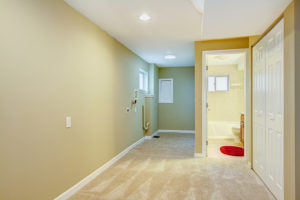 Basement-Hallway-With-Laundry